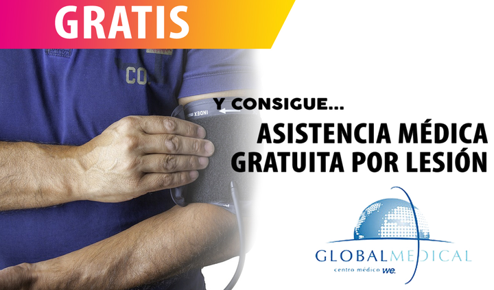 Global Medical - Asistencia gratuita a lesionado